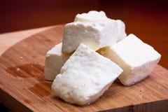乳酪凝乳 免版税库存照片