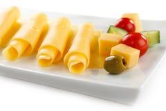 乳酪卷 库存照片