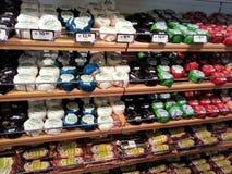乳酪商店 免版税库存照片
