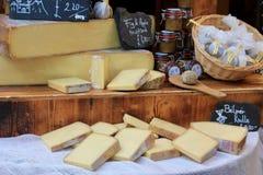 乳酪市场 免版税图库摄影