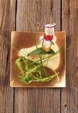 乳酪开胃小菜 免版税库存照片