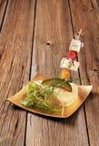 乳酪开胃小菜 图库摄影