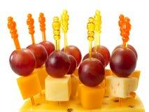 乳酪开胃菜 免版税库存照片