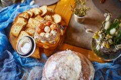 乳酪早午餐,青纹干酪,纤巧 库存照片