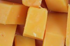 乳酪棍子被切关闭 免版税库存图片