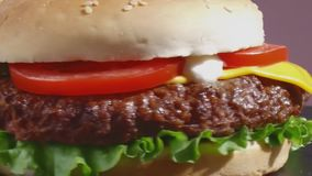 乳酪汉堡轮关闭  股票录像