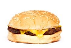 乳酪汉堡 库存图片