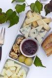 乳酪法国人早午餐 免版税库存照片