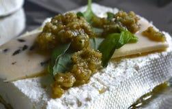 乳酪用草本在保加利亚 图库摄影