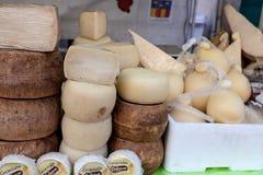 乳酪的各种各样的类型 免版税图库摄影