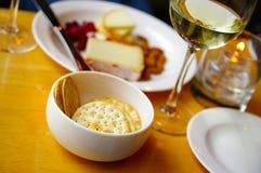乳酪盘子 免版税图库摄影