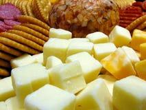 乳酪盘子 免版税库存图片
