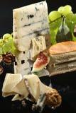 乳酪盘子 图库摄影