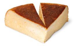 乳酪砂锅开胃两个片断  免版税库存图片