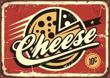 乳酪葡萄酒标志传染媒介例证 皇族释放例证