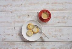乳酪蛋糕和咖啡1 库存照片