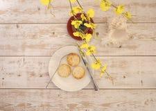 乳酪蛋糕和咖啡9 免版税图库摄影