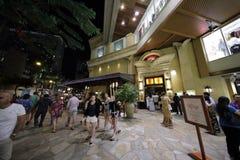 乳酪蛋糕工厂皇家夏威夷中心 库存照片