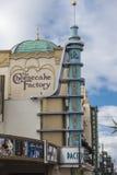 乳酪蛋糕工厂 库存照片
