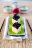 乳酪蛋糕日语 免版税库存图片