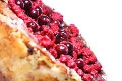 乳酪蛋糕用莓 图库摄影