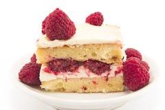 乳酪蛋糕用莓 库存图片