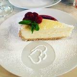 乳酪蛋糕纽约 库存照片