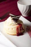乳酪蛋糕莓 免版税库存图片