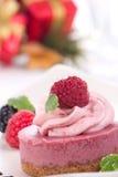 乳酪蛋糕莓 免版税图库摄影