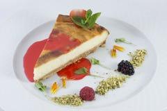 乳酪蛋糕 免版税图库摄影