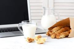 乳酪面包 自创低贱面包棒 免版税库存照片