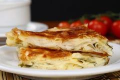 乳酪饼- Borek 免版税库存照片