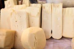乳酪,传统在伊斯坦布尔 免版税库存图片