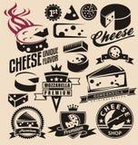乳酪 库存例证