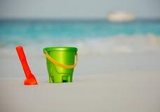 了不起的孩子马尔代夫安置假期 图库摄影