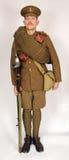 了不起的战争骑兵战士1914年 免版税库存照片