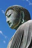 了不起的菩萨(Daibutsu)镰仓,日本 免版税库存图片