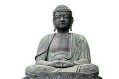 了不起的菩萨Daibutsu在日本 库存照片
