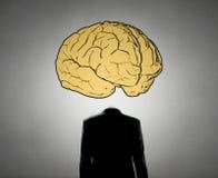 了不起的头脑的人 库存图片