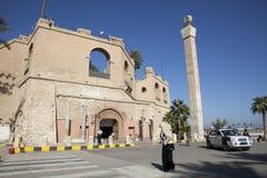 了不起的jamahiriya利比亚博物馆国民 免版税库存照片