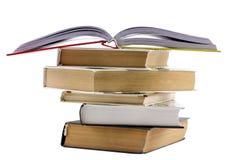 了解栈的书概念 免版税图库摄影