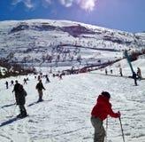 了解滑雪 库存照片