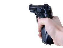 争取的枪 免版税图库摄影