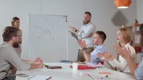 争吵在企业介绍时 影视素材