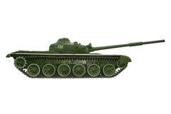 争斗俄国坦克白色 免版税库存照片