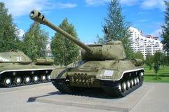 争斗俄语坦克 免版税库存图片