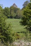 争斗修道院在东萨塞克斯郡 库存照片