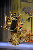 争斗北京歌剧:对我的姘妇的告别 免版税库存照片