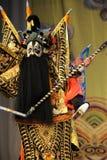 争斗北京歌剧:对我的姘妇的告别 图库摄影