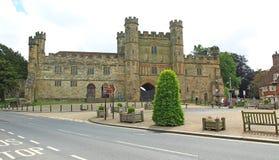 争斗城堡 库存图片